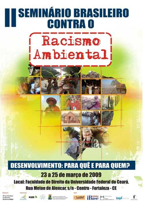 RACISMO AMBIENTAL CARTAZ