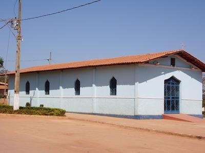 Capela de Nossa Senhora do Rosário.