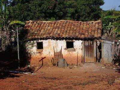 Uma das moradias em Pontinha.