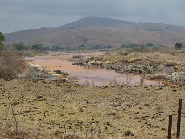 chegada lama rio doce