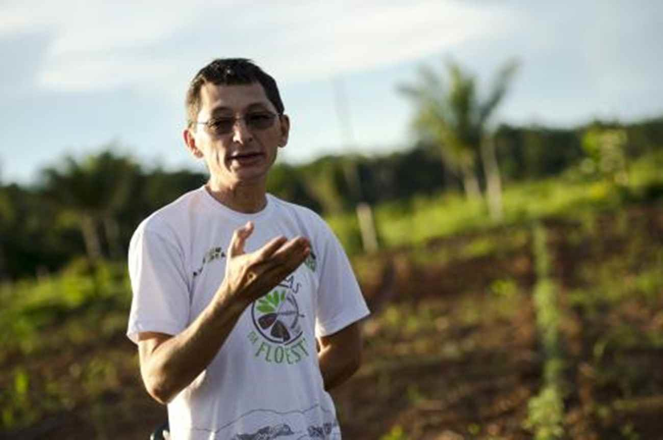 O líder comunitário Paulo Nunes defende novos modelos de desenvolvimento - Marcelo Camargo/ Agência Brasil