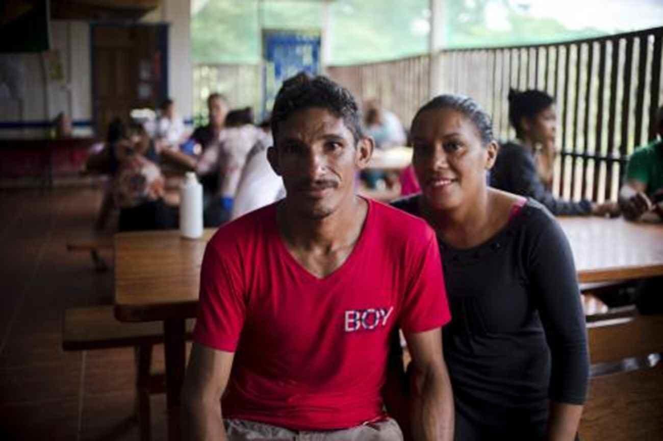 Professor Ailton e a esposa, Artemísia dos Santos - Marcelo Camargo/ Agência Brasil