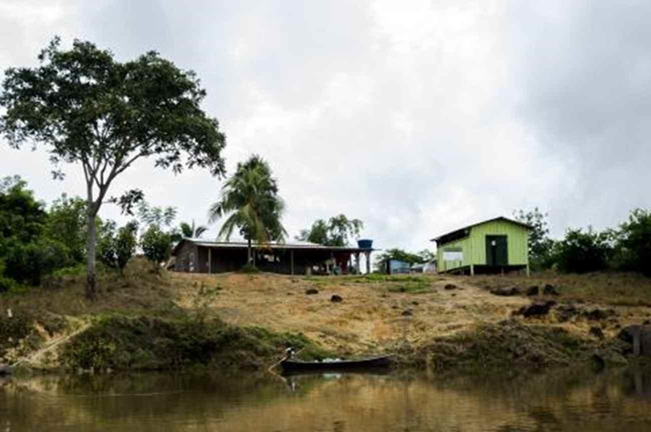 Colocação típica da comunidade São Lourenço - Marcelo Camargo/ Agência Brasil