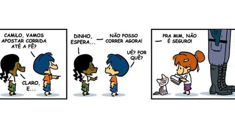 Armandinho e a censura: estamos com você, menino! | Combate Racismo  Ambiental